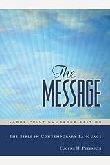 The Message Large Print Hardback: Large Print Edition Hardcover