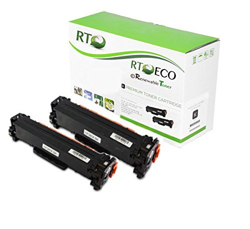 Renewable Toner 312X CF380X 2-Pack Compatible Toner Cartridge for HP LaserJet Pro MFP M476nw M476dw M476dn