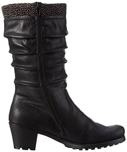 Rieker Y8080, Damen Langschaft Stiefel