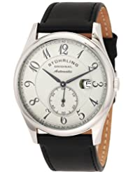 Stuhrling Original Men's Classic Cuvette Classic Automatic Date Watch Grey 171B.331554