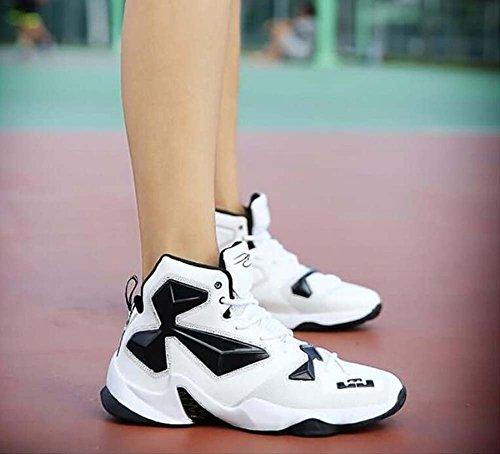 EU Hombre 39 Zapatos Zapatos Invierno PU 44 Blanco Confort de Baloncesto Zapatillas Otoño Tamaño de 57nqTrw7P