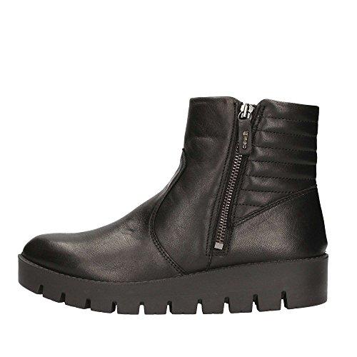ankle IGI boots Black wedge amp; Nero women zip shoes CO 68000 ZZ4rwgUq