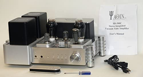 YAQIN MS-300C 300B x2 Vacuum Tube Hi-end Tube Integrated Amplifier