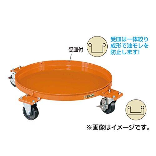 円形ドラム台車 DR-4M B00DDF725A