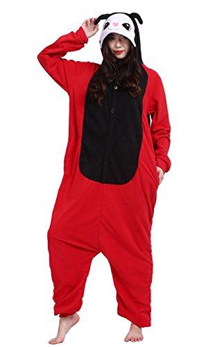 Unisex Adult Animal Cosplay Costume Onesie Pajamas Nightwear Ladybug