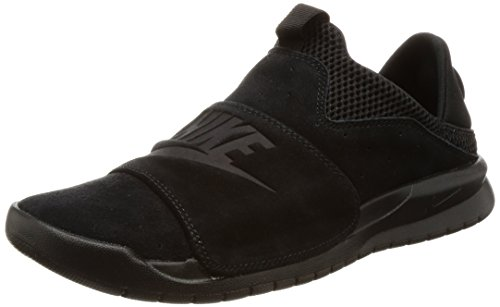 Nike BENASSI SLP Mens fashion-sneakers 882410-003_9.5 - BLACK/BLACK-BLACK by NIKE (Image #1)