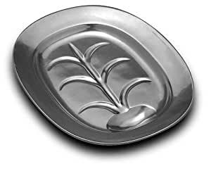 Wilton Armetale Well and Tree Platter, Rectangular, 14-Inch by 11-1/4-Inch