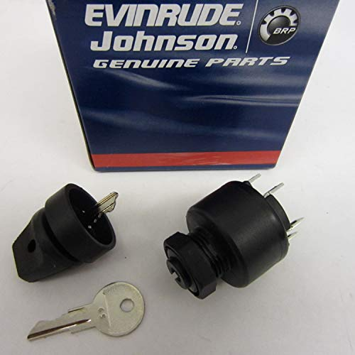 Johnson Electric Outboard (OEM Evinrude Johnson BRP Ignition Switch 77 Series (1977-1995) - 508180)