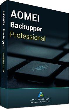AOMEI Backupper Pro - Latest Edition + Free Lifetime Upgrades - (Direct - Looks Latest
