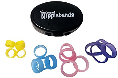 Nipplebands for Inverted Nipples or as Nipple Rings or Nipple Clamps - Sample Pack