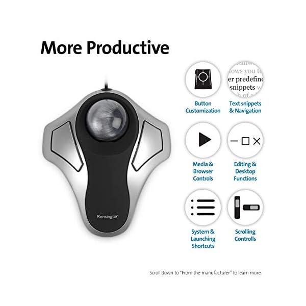 Kensington Orbit Trackball Mouse (K64327F)