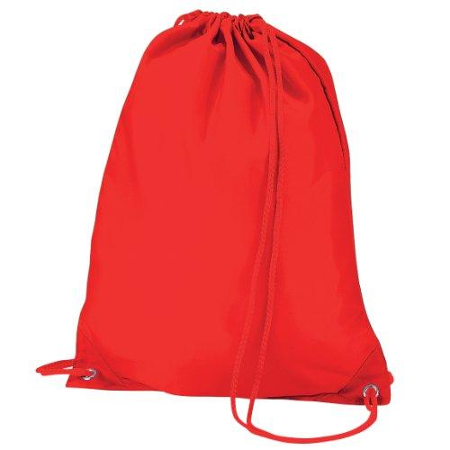 Quadra Gymsac Shoulder Carry Bag - 7 Litres Rosso acceso