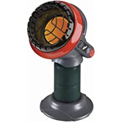Mr. Heater offers the latest evolution in portable heating with the Portable Little Buddy Propane Heater. Use it in garages, tents, workshops, cabins, porches, patios, or hunting blinds to heat up to 95 sq. ft.. Equipped with a low-oxygen shu...