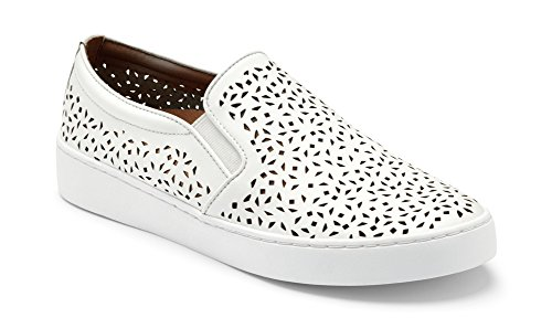 Vionic Women's Splendid Midi Perf Slip-On White