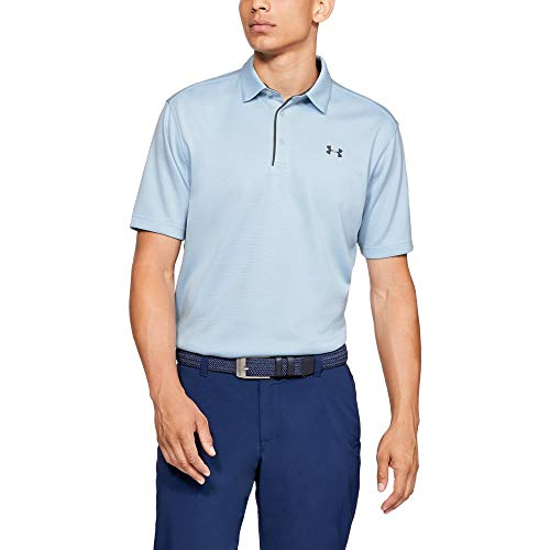 Under Armour Tech Polo para Hombre, Code Blue//Pitch Gray, XX-Large