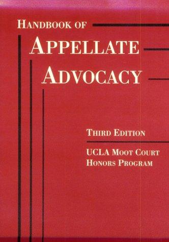 Appellate Advocacy Handbook (American Casebook Series)