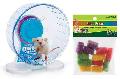 Mouse Wheel: 6 Inch Prevue Quiet Wheel with Bearings Bundled with Ware Rice Pops by Small Joys (Image #8)