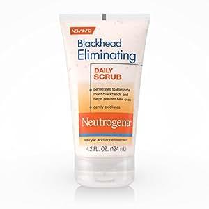 Neutrogena Blackhead Eliminating Daily Face Scrub With Salicylic Acid, Blackhead Scrub, 4.2 Oz. (Pack of 6)