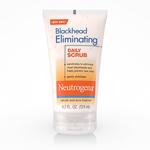 Neutrogena Blackhead Eliminating Daily Scrub, 4.2 Fluid Ounce (Pack of 6)