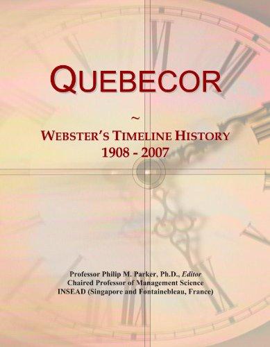 quebecor-websters-timeline-history-1908-2007