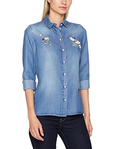 01 H jeans blau Donna Blusa Nadine Blu xASfxn