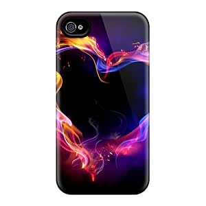 Ultra Slim Fit Hard Phone Case Case Cover Specially Made For Iphone 4/4s- Herat
