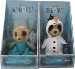 Disney Frozen Oleg as Olaf & Ayana as Elsa Compare the Meerkat Limited  Edition