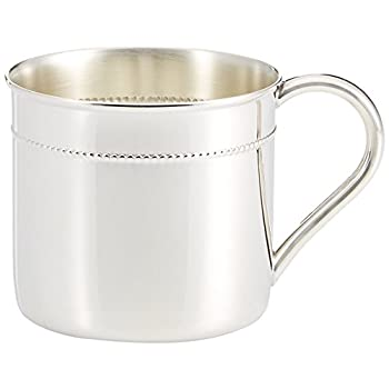 Image of Baby Reed & Barton Sterling Silver 6-Ounce Beaded Child Cup - X175