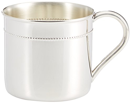 Baby Gifts Silver Sterling (Reed & Barton Sterling Silver 6-Ounce Beaded Child Cup)