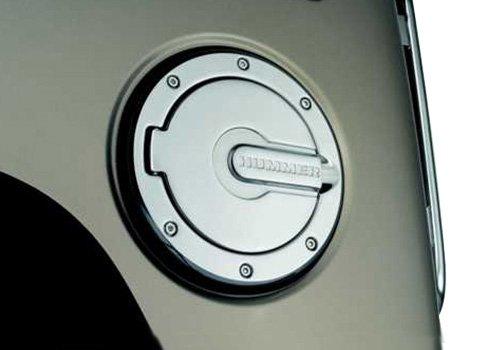 OEM Hummer H2 Chrome Fuel Door - 19159135