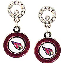 Pro Specialties Group NFL Circle Post Earrings