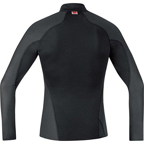 Wear M Layer Maglia Running Nero Windstopper Lunghe Maniche Gore Essential Uomo A Base Da Nero qxf4wW5FO