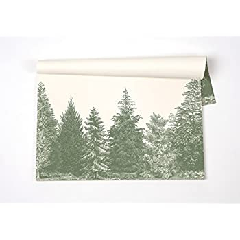 Evergreen Paper Placemats 30 Sheets American Made