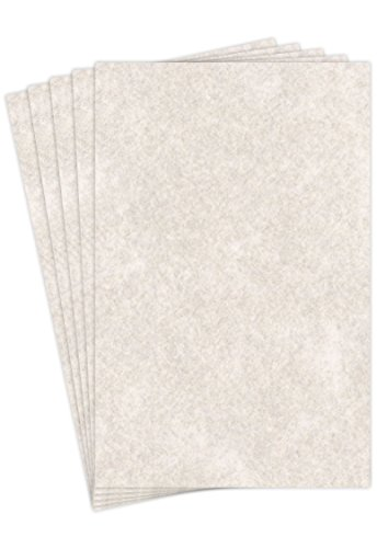 Mohawk Skytone Vellum Parchment Paper, 60 text 11 x 17 Inches, 50 Sheets (Peweter) (Skytone Vellum)