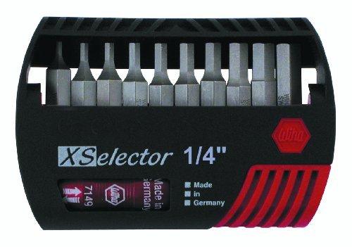 - Wiha - X-Selector Bit Set Inch Hex - 79446