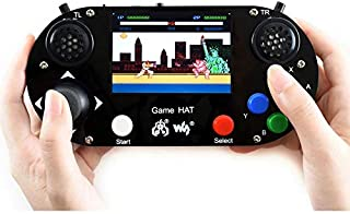 Waveshare Game HAT for Raspberry Pi A+/B+/2B/3B/3B+ 3.5inch IPS Screen 480 320 Resolution 60 Frame Experience Make Your Own Game Console