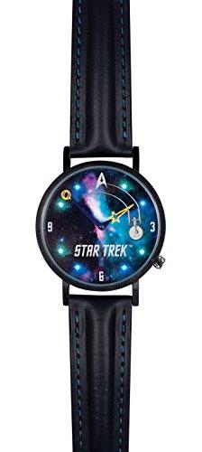 Star Trek Enterprise Watch - Unisex Analog Water Resistant Novelty Gift Wristwatch
