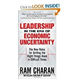 img - for Leadership in the Era of Economic Uncertainty byCharan book / textbook / text book