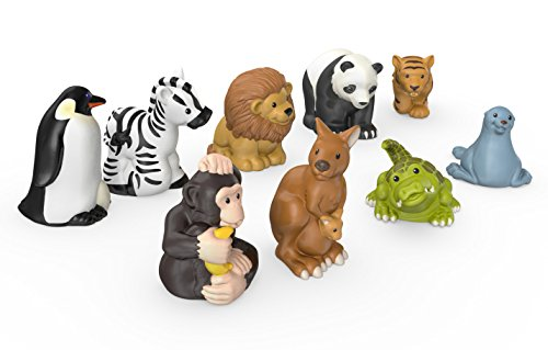 Fisher Price Little People Zoo Animal Friends Kid Toys 4