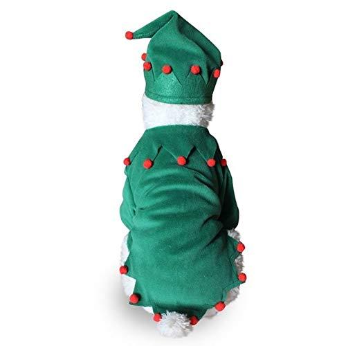 Light Green Dog Coats & Jackets Pet Holloween Christma Warm Coat Dog Clothing Jacket Halloween Costume Outfit Familiari Allhallow Eve Chase Pawl Frump Detent Domestic Andiron Cad Firedog 1PCs