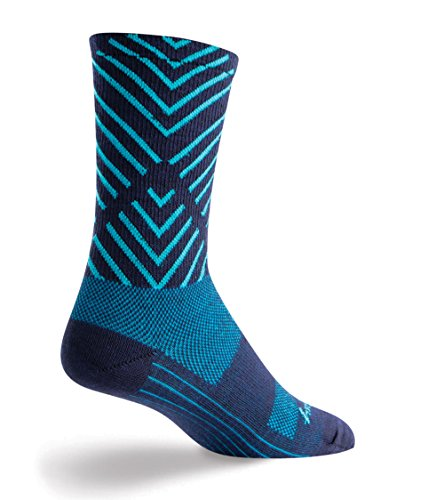 SockGuy Maze 6in Wool Sock One Color, L - Men's