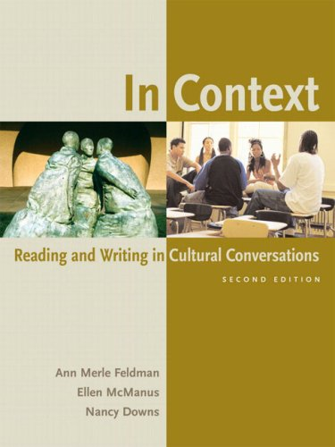 In Context: Reading and Writing in Cultural Conversations (2nd Edition)