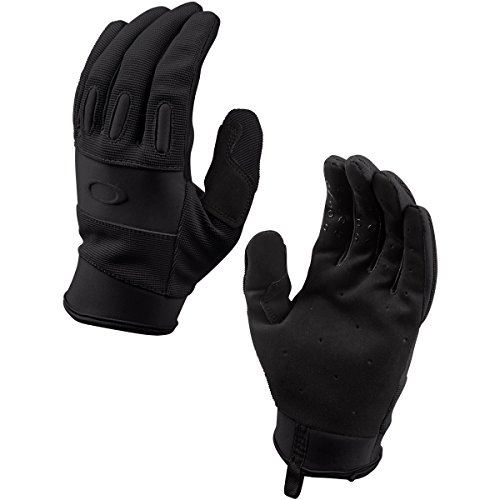Oakley Mens SI Lightweight Glove, Black, Large