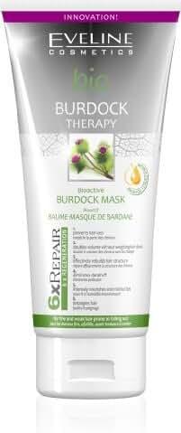 Eveline Cosmetics - BIO BURDOCK - Bio Active Burdock Mask 200ml - Intensely nourishes and moisturizes by Mammoth Cosmetics
