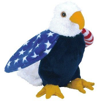 a9ba32d5835 Image Unavailable. Image not available for. Color  Ty Beanie Babies - Soar  the Eagle ...