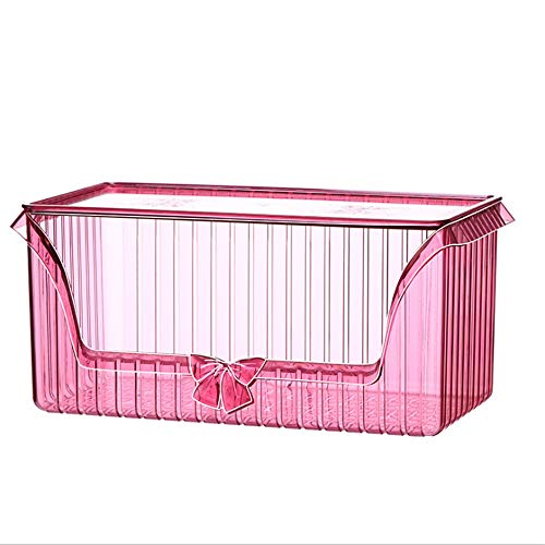 Cosmetic Organiser Sections Vintage Bow-knot Cosmetic Organiser Makeup Display Storage Stand Holder Box Jewelry Perfumes Lipsticks Divider Container Large Capacity For Dresser Bedroom Bathroom Drawer