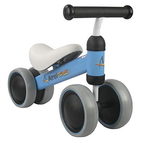 🥇 Airel Triciclo Sin Pedales | Correpasillos Bebé | Triciclo Sin Pedales Bebé | Triciclo Sin Pedales | Triciclo Sin Pedales Infantil | De 1 a 3 años