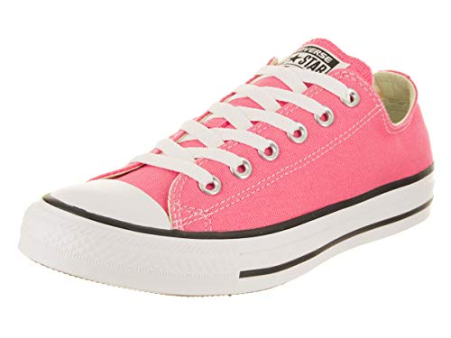 (Converse Unisex Chuck Taylor All Star Ox Low Top Classic Pink Sneakers - 7 B(M) US Women / 5 D(M) US Men)