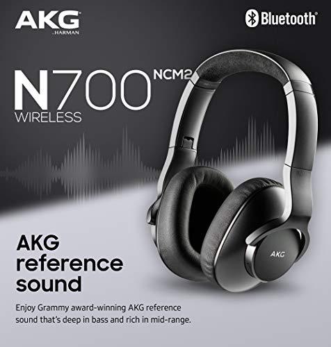 Samsung Galaxy S10+ Plus Factory Unlocked Phone with 128GB (U.S. Warranty), Prism Black w/AKG N700NC M2 Headphones