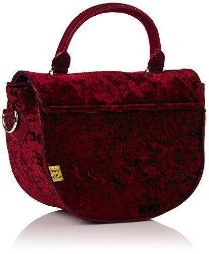 Irregular Choice Casa Blanka Bag, Borse a mano Donna Rosso (Red)